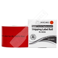 Picture of Dymo - 30256 RED Shipping Labels (12 Rolls – Shipping Included)