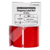 Picture of Dymo - 30256 RED Shipping Labels (50 Rolls – Shipping Included)