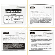 Picture of Dymo - 30256 RED Shipping Labels (32 Rolls – Shipping Included)