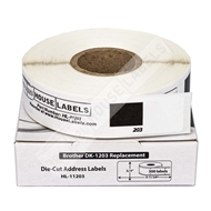 Picture of Brother DK-1203 (21 Rolls + Reusable Cartridge – Shipping Included)