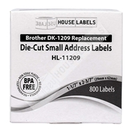 Picture of Brother DK-1209 (12 Rolls + Reusable Cartridge – Shipping Included)