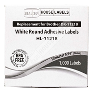 Picture of Brother DK-1218 (12 Rolls + 2 Reusable Cartridges – Shipping Included)