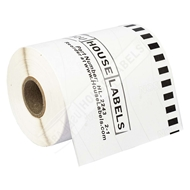 Picture of Brother DK-2243 (6 Rolls + Reusable Cartridge – Shipping Included)