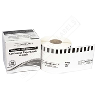 Picture of Brother DK-2205 (50 Rolls + Reusable Cartridge– Shipping Included)