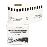 Picture of Brother DK-2205 (32 Rolls + Reusable Cartridge– Shipping Included)
