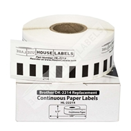 Picture of Brother DK-2214 (1 Roll + 2 Reusable Cartridges – Shipping Included)