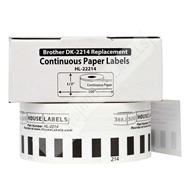 Picture of Brother DK-2214 (100 Rolls + Reusable Cartridge – Shipping Included)