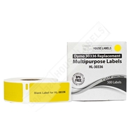 Picture of Dymo - 30336 YELLOW Multipurpose Labels