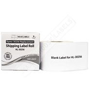 Picture of Dymo - 30256 Shipping Labels in Polypropylene (12 Rolls – Shipping Included)