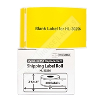 Picture of Dymo - 30256 YELLOW Shipping Labels with Removable Adhesive