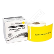 Picture of Dymo - 30256 YELLOW Shipping Labels with Removable Adhesive (50 Rolls – Shipping Included)