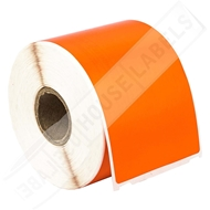 Picture of Dymo - 30256 ORANGE Shipping Labels with Removable Adhesive (32 Rolls – Shipping Included)