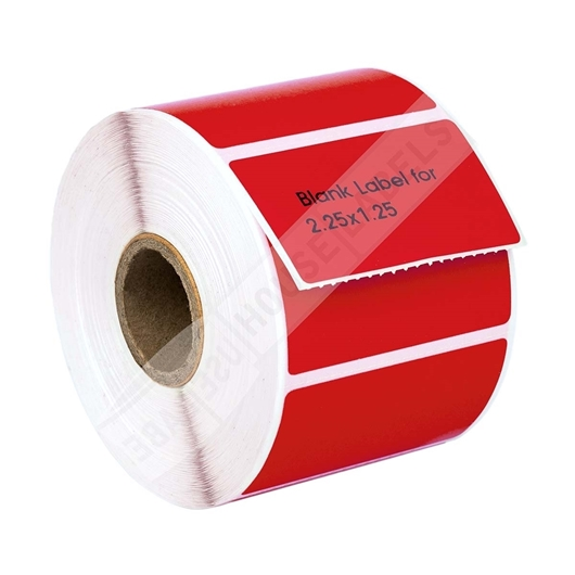 Picture of Zebra – 2.25 x 1.25 RED (50 Rolls – Shipping Included)