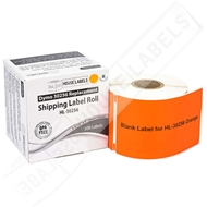Picture of Dymo - 30256 ORANGE Shipping Labels with Removable Adhesive (50 Rolls – Shipping Included)