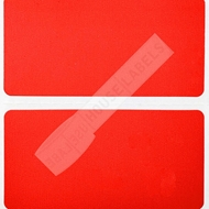 Picture of Zebra – 2 x 1 RED