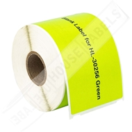 Picture of Dymo - 30256 GREEN Shipping Labels with Removable Adhesive (18 Rolls – Shipping Included)