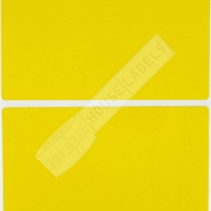 Picture of Zebra – 3 x 5 YELLOW (6 Rolls – Shipping Included)