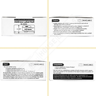 Picture of Dymo - 30252 RED Address Labels (16 Rolls - Shipping Included)