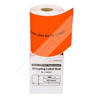 Picture of Dymo - 1744907 ORANGE Shipping Labels (11 Rolls - Shipping Included)