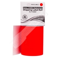 Picture of Dymo - 1744907 RED Shipping Labels (4 Rolls - Shipping Included)