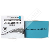 Picture of Dymo - 30256 BLUE Shipping Labels (50 Rolls – Shipping Included)