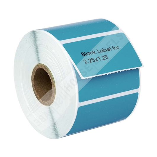 Picture of Zebra – 2.25 x 1.25 BLUE (50 Rolls – Shipping Included)