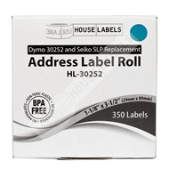 Picture of Dymo - 30252 BLUE Address Labels
