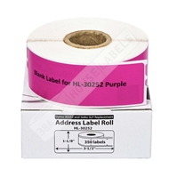 Picture of Dymo - 30252 PURPLE Address Labels