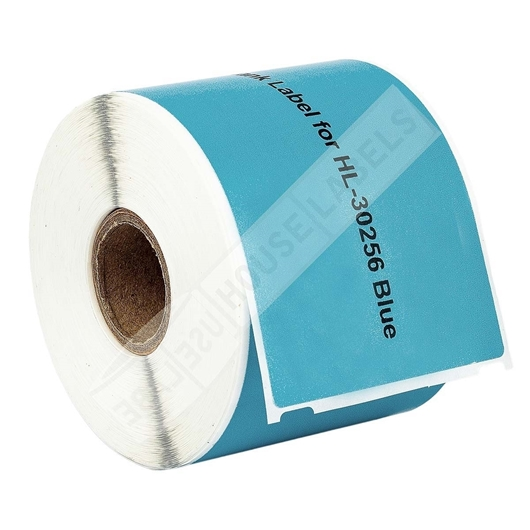 Picture of Dymo - 30256 BLUE Shipping Labels with Removable Adhesive (25 Rolls – Shipping Included)